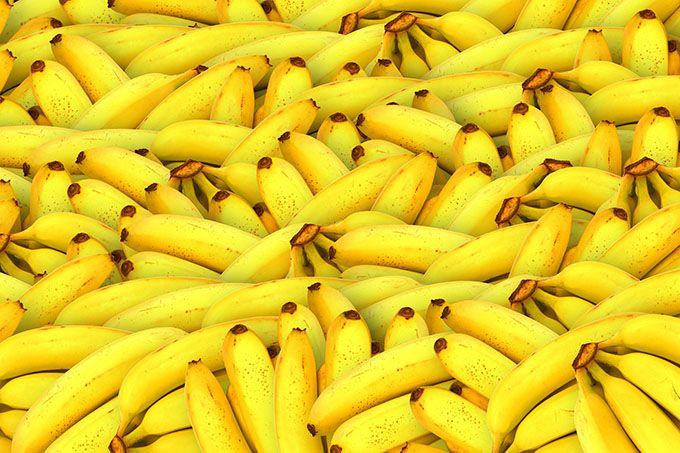 בננות. המון בננות.